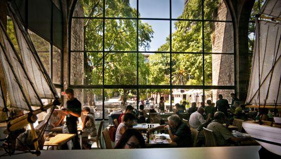 Reforma de la cocina del restaurante Museu Marítim de Barcelona