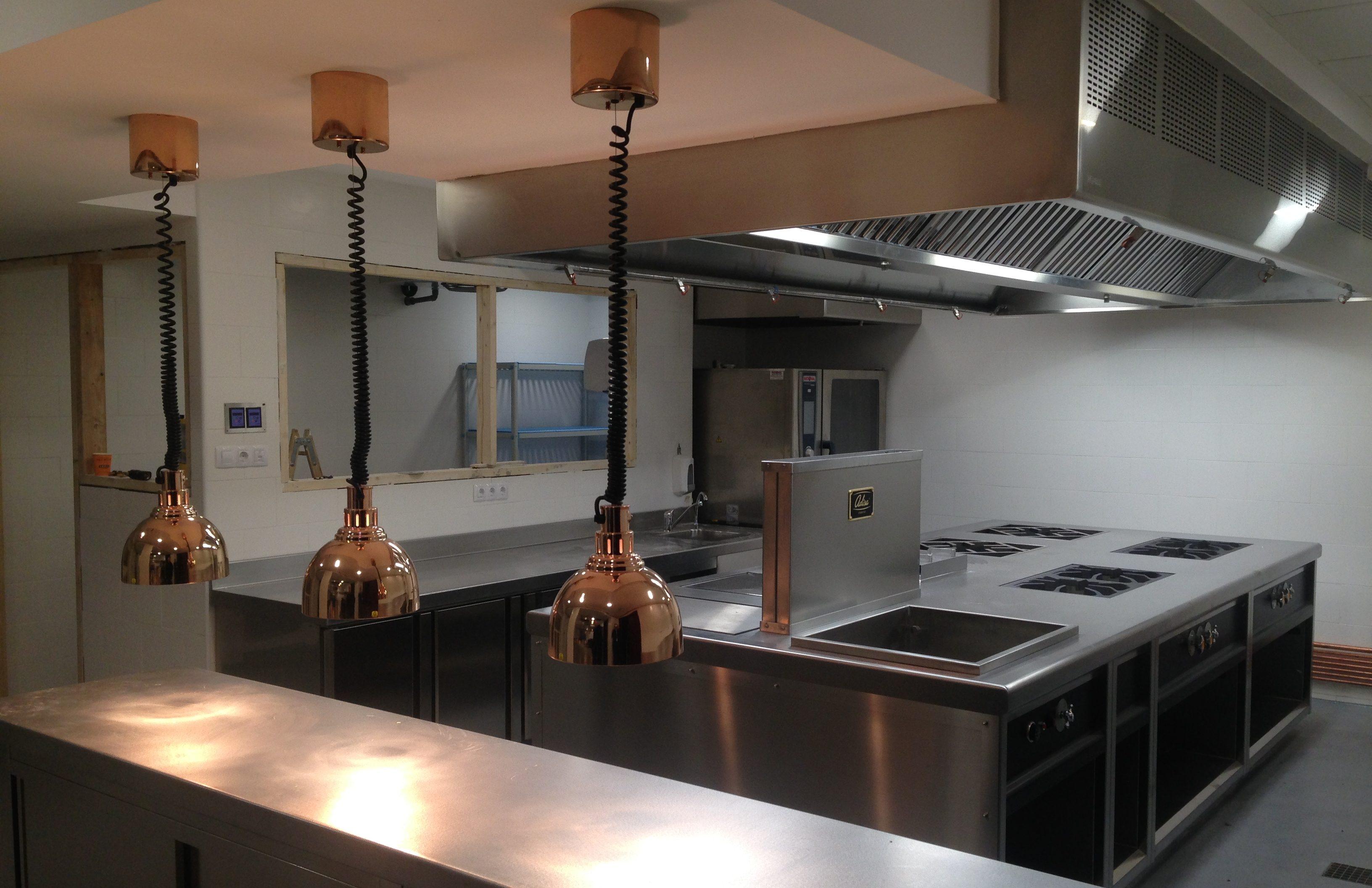 Proyectos y Diseño de Cocina Industrial y Lavandería