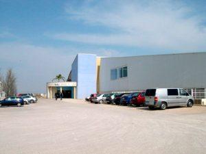 Centro deportivo donde se efectúa la deshumectación