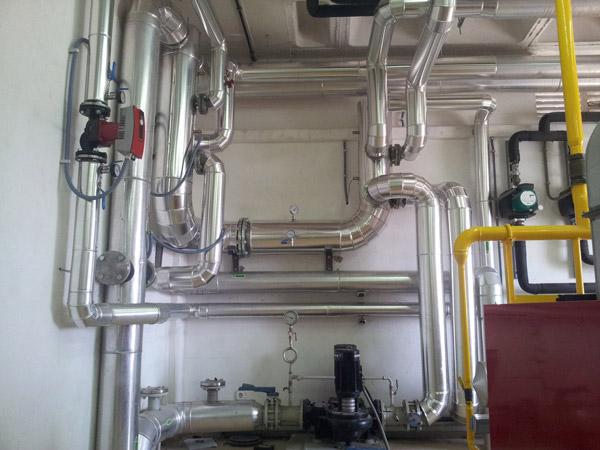 Instalación de ACS y caldefacción 1
