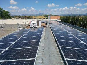 Instalación solar fotovoltaica para autoconsumo energético