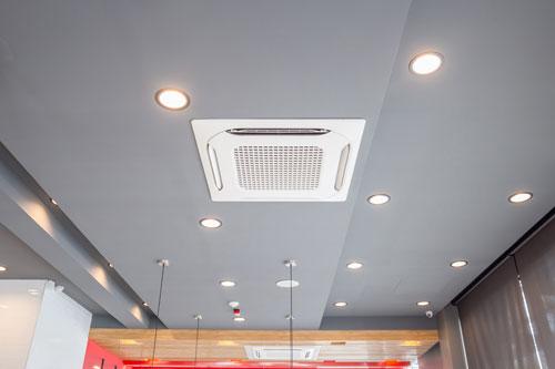 aire acondicionado para oficinas grandes